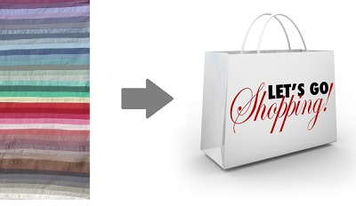 shopping my colors logo - colour analysis and shopping