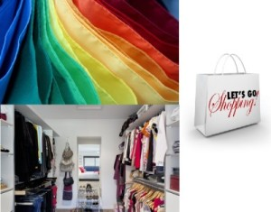 Colour Analysis Flags, Wardrobe, Shopping Photo